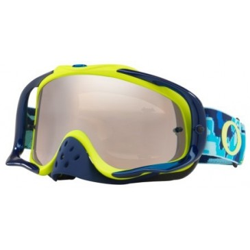 MASQUE OAKLEY CROWBART HERMO CAMO BLUE/LIME