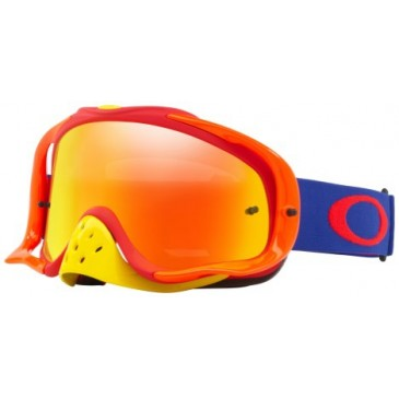 MASQUE OAKLEY CROWBAR BLUE RED
