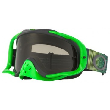 MASQUE OAKLEY CROWBAR SHOCKWAVE GREEN YELLOW
