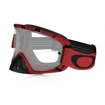 MASQUE OAKLEY O FRAME 2.0 INTIMIDATOR BLOOD RED ECRAN CLAIR