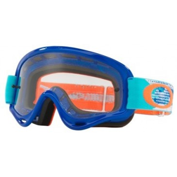 MASQUE OAKLEY XS O-FRAME MX TREADBURN ORG/BLUE