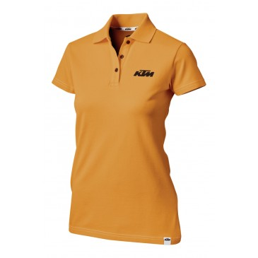 POLO FEMME KTM RACING ORANGE