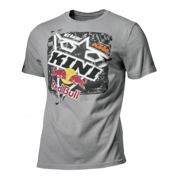 TEE SHIRT KINI RED BULL / KTM SQUARE GREY