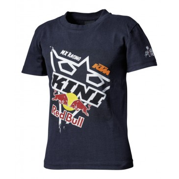 TEE SHIRT ENFANT KINI RED BULL / KTM SQUARE