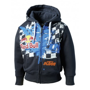 SWEAT ENFANT KINI RED BULL / KTM OVERSPRAY DARK BLUE