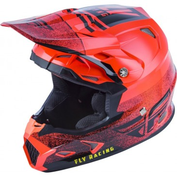 CASQUE FLY TOXIN MIPS EMBARGO ORANGE FLUO/NOIR