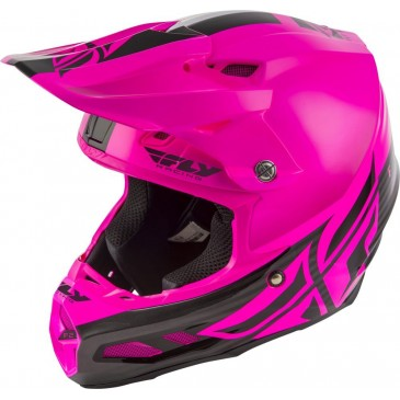 CASQUE FLY F2 MIPS SHIELD NOIR/ROSE