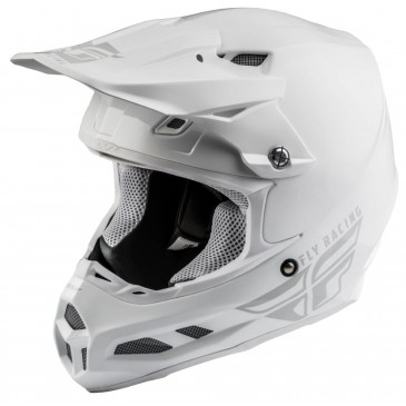 CASQUE FLY F2 MIPS SHIELD BLANC