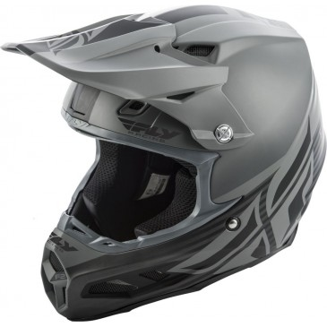 CASQUE FLY F2 MIPS SHIELD GRIS MAT/NOIR