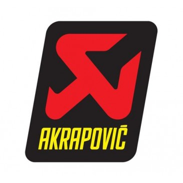 AUTOCOLLANT AKRAPOVIC ON ROAD