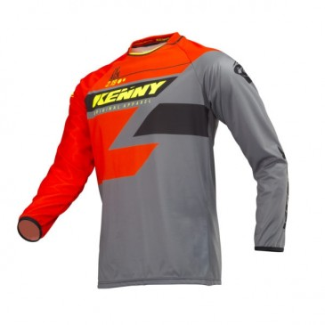 MAILLOT ENFANT KENNY TRACK OR/GREY/NEON