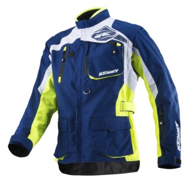 VESTE TITANIUM KENNY NEON YELLOW/BLUE