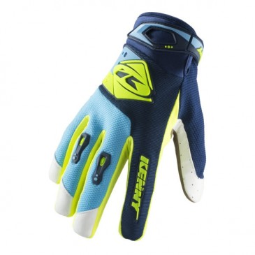 GANTS ENFANT KENNY NAVY/CYAN/NEON YELLOW