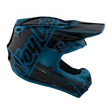 CASQUE ENFANT TROY LEE DESIGN SE4 FACTORY OCEAN