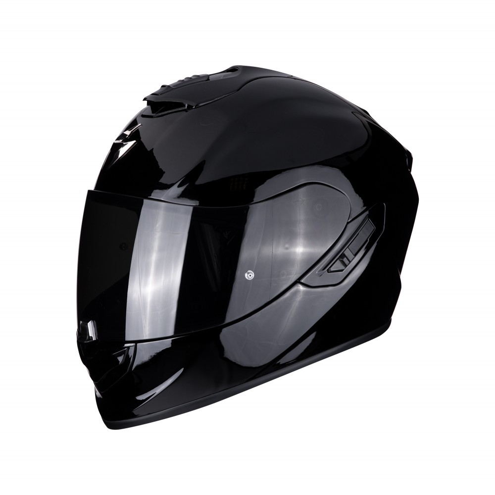 casque scorpion exo 1400 carbon air solid noir casque wolff ktm. Black Bedroom Furniture Sets. Home Design Ideas