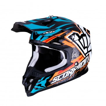 CASQUE SCORPION VX-16 AIR ROK BAGOROS