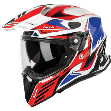 CASQUE AIROH COMMANDER CARBON RED GLOSS