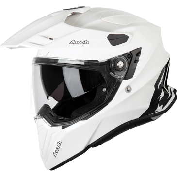 CASQUE AIROH COMMANDER COLOR WHITE GLOSS