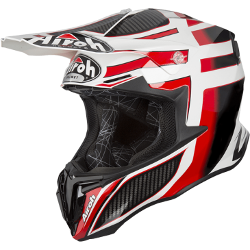 CASQUE AIROH TWIST SHADING RED GLOSS