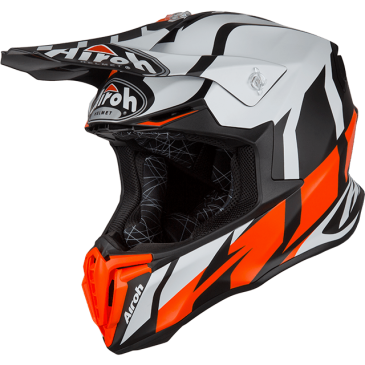 CASQUE AIROH TWIST GREAT ORANGE MATT