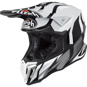 CASQUE AIROH TWIST GREAT GREY GLOSS
