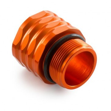 EXTENSION DE RESERVOIR FREIN ARRIERE ORANGE