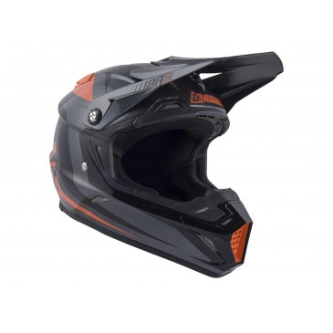 CASQUE ANSWER AR5 PULSE CHARCOAL/ORANGE