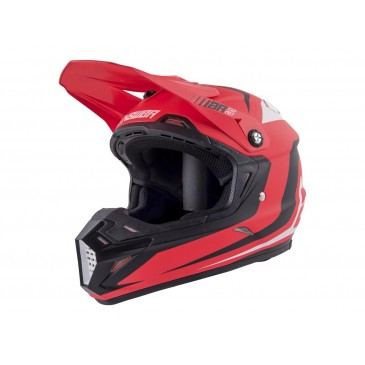 CASQUE ANSWER AR5 PULSE ROUGE/BLANC