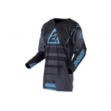 MAILLOT ANSWER ELITE FORCE CHARCOAL/NOIR/ASTANA