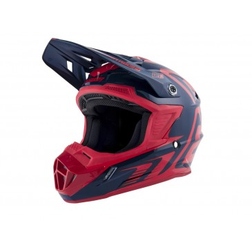 CASQUE ANSWER AR1 EDGE MIDNIGHT/BRIGHT RED