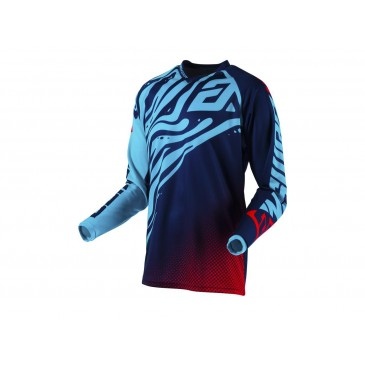 MAILLOT ANSWER SYNCRON FLOW ASTANA/INDIGO/RED