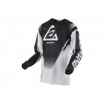 MAILLOT ANSWER SYNCRON AIR DRIFT BLANC/NOIR