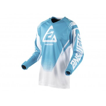 MAILLOT ANSWER SYNCRON AIR DRIFT BLANC/ASTANA