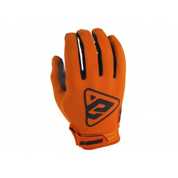 GANTS ANSWER AR3 ORANGE/NOIR