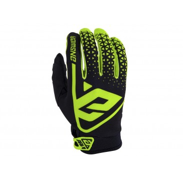 GANTS ANSWER AR1 JUNIOR HYPER ACID/NOIR TAILLE YXS