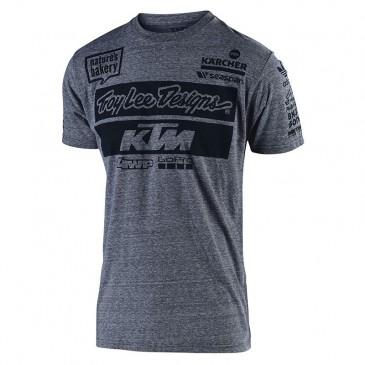 TEE SHIRT TROY LEE DESIGN / KTM GRIS 2019