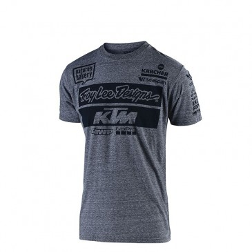 TEE SHIRT ENFANT TROY LEE DESIGN / KTM TEAM GRIS 2019
