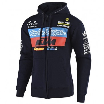 SWEAT A TIRETTE TROY LEE DESIGN / KTM TEAM NAVY 2019