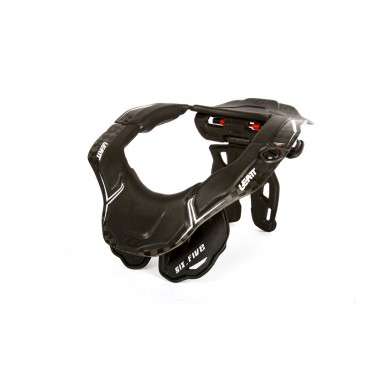 NECK BRACE LEATT GPX 6.5 CARBONE