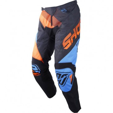 PANTALON SHOT ULTIMATE BLEU NEON/ORANGE