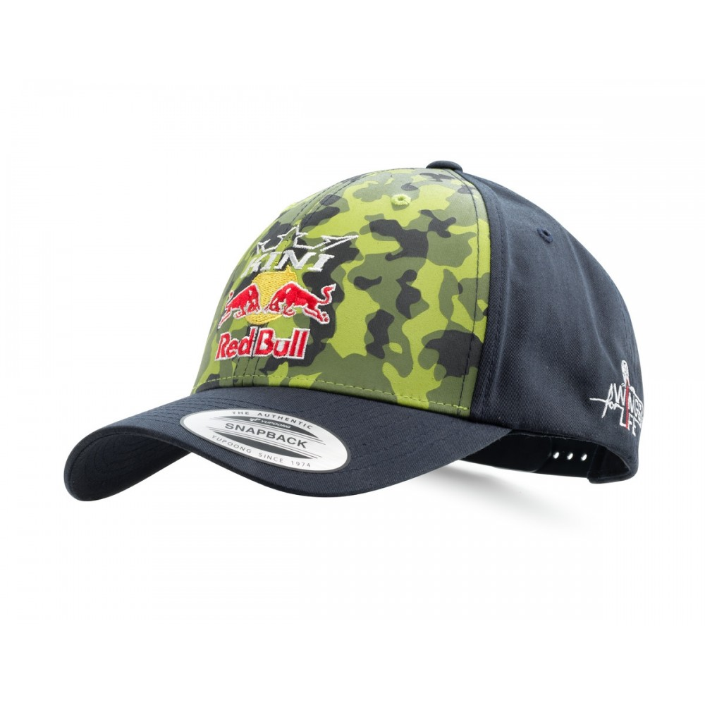 CASQUETTE KTM KINI RED BULL CAMOUFLAGE Casquettesbonnet Wolff KTM