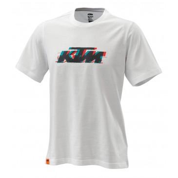 TEE-SHIRT KTM RADICAL LOGO BLANC