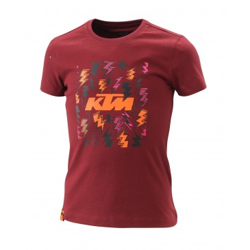 TEE-SHIRT FILLE KTM RADICAL
