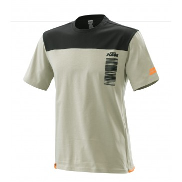 TEE-SHIRT KTM PURE STYLE GRIS