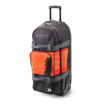 VALISE A ROULETTE KTM 9800 ORANGE