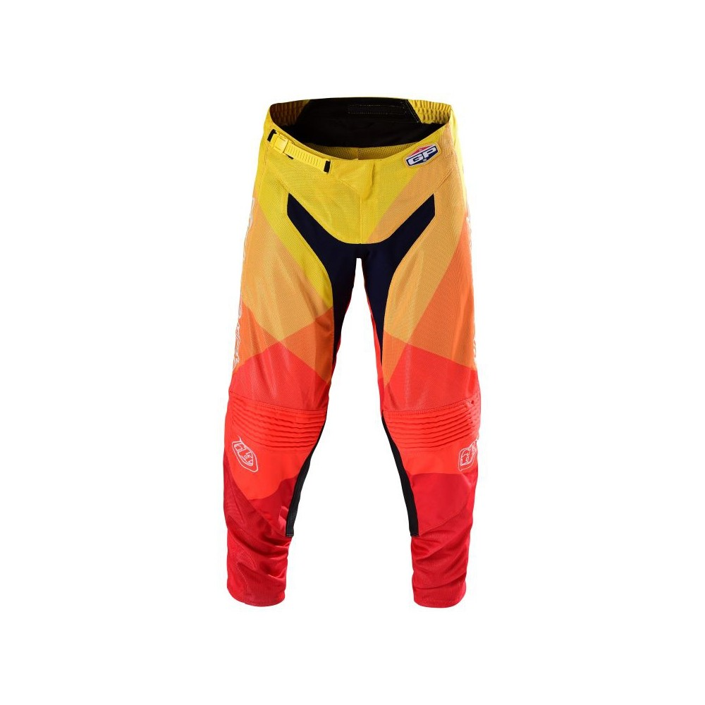 Pantalon Troy Lee Design Gp Air Jet Jaune Orange Pantalons Wolff Ktm