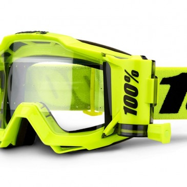 LUNETTES 100%  MODELE ACCURI FORECAST FLUO YELLOW