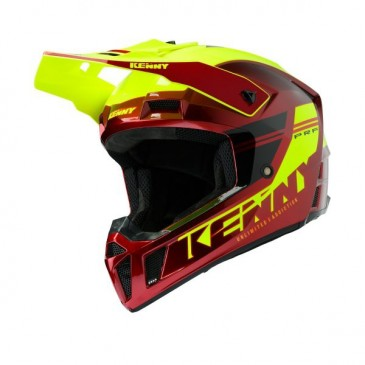 CASQUE KENNY PERFORMANCE PRF ROUGE CANDY