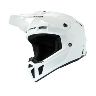 CASQUE KENNY PERFORMANCE SOLID BLANC PERLE