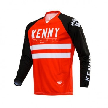 MAILLOT KENNY PERFORMANCE ROUGE